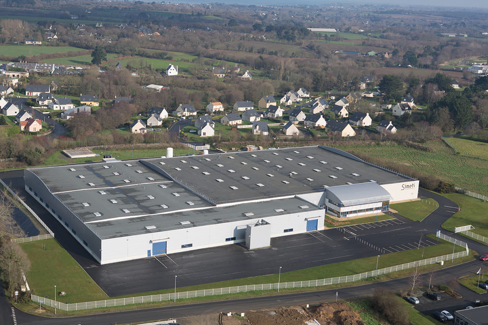Lannion Production site Sermeta