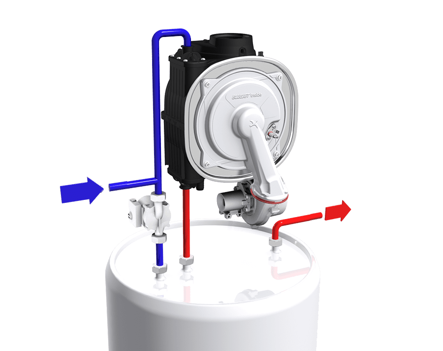 Hot water tank - Condensing - Technology