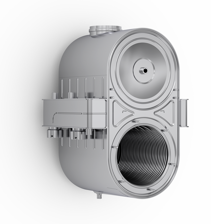 Sermeta, condensing heat exchanger, high efficiency, hydronic boiler, stainless steel